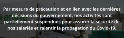 Informations COVID19 : Les Activités Et Les Services ENVIE Rhône-Alpes